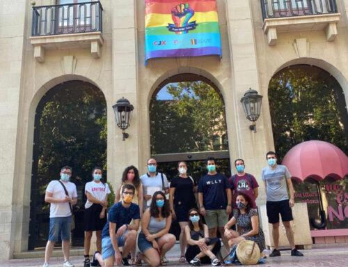 La lectura del Manifest va donar inici a la setmana de l'Orgull LGTBI+ 2020