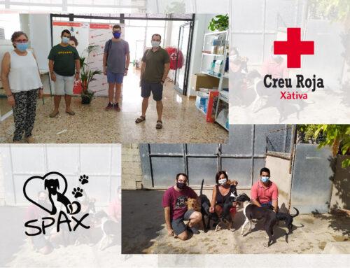 El CJX visita la Protectora d'Animals i Creu Roja