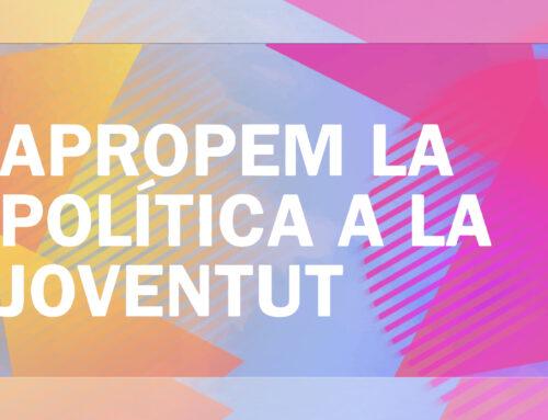 """Finalitza la campanya """"Apropem la política a la Joventut"""" realitzada pel CJX"""