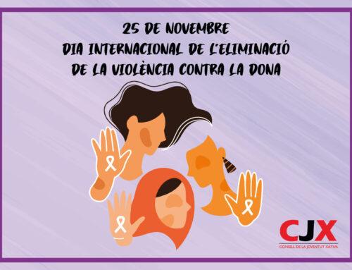 El CJX reivindica el dia Internacional de l'eliminació de la violència contra les dones