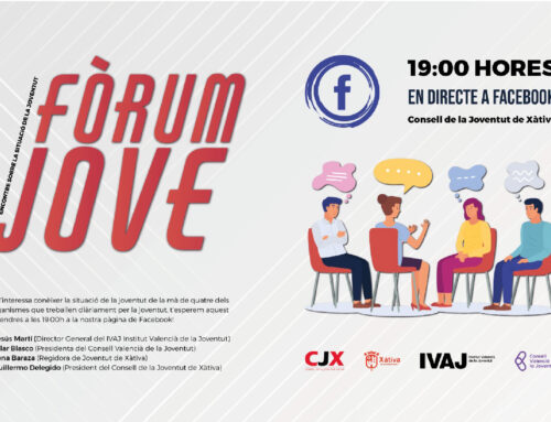 Organitzem un Fòrum Jove per conèixer la situació de la joventut