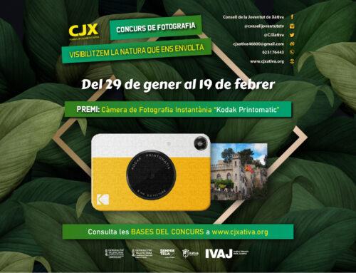 Participa del Concurs de Fotografia en la Natura fins el 19 de febrer. Consulta les Bases ací.