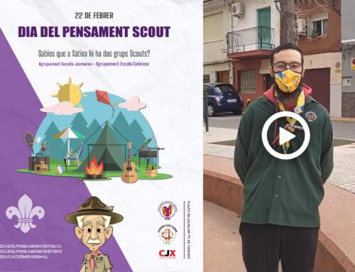 El Consell de la Joventut de Xàtiva celebra el Dia del Pensament Scout – 22 de febrer