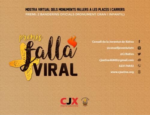 """El CJX convoca els """"Premis a la Falla més Viral"""" amb una mostra virtual dels monuments fallers"""