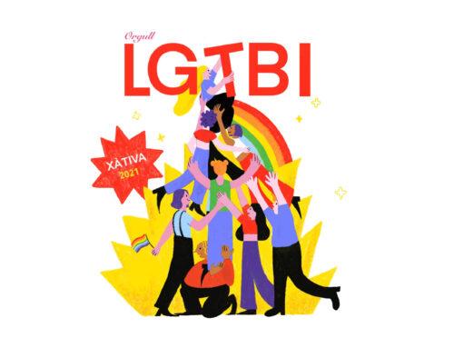 Desi Pérez es proclama guanyadora del Concurs de Cartells Orgull LGTBI+ Xàtiva 2021