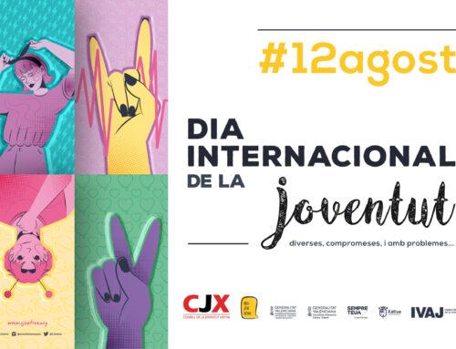 El Consell de la Joventut de Xàtiva commemora el Dia de la Joventut amb missatges reivindicatius i encoratjadors