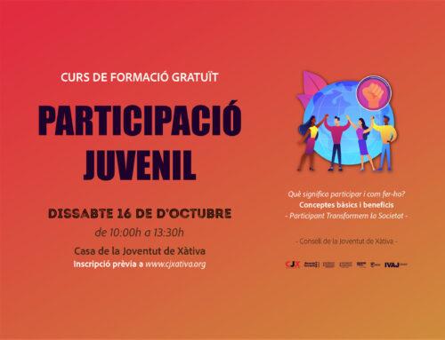 El CJX realitza aquest dissabte un curs gratuït de participació juvenil